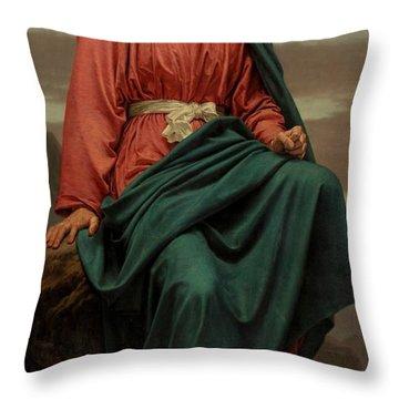 The Man Of Sorrows Throw Pillow by Sir Joseph Noel Paton