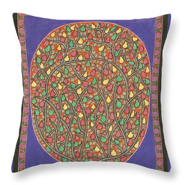 The Mango Tree Throw Pillow