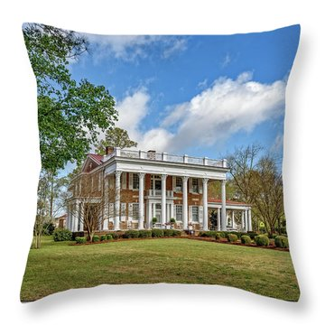 The Manor Throw Pillow