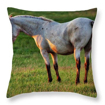 The Mare Throw Pillow