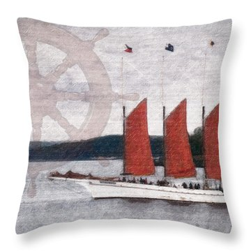 The Margaret Todd Throw Pillow