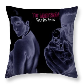 The Marksman - Ready For Action Throw Pillow