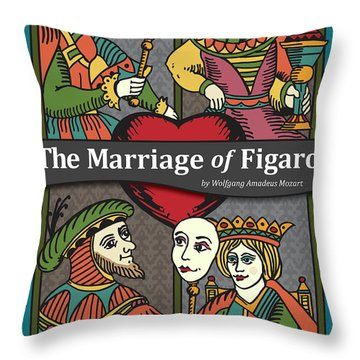 The Marriage Of Figaro Throw Pillow