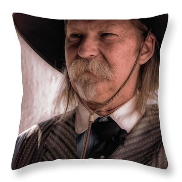 The Marshal Throw Pillow