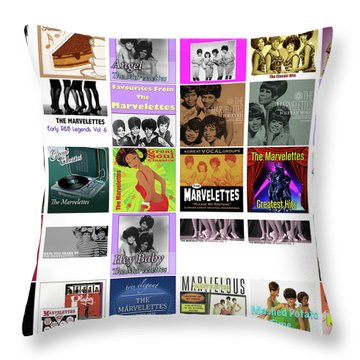 The Marvelettes 1 Throw Pillow