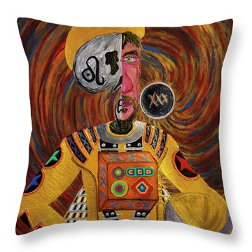 The Mastermind Throw Pillow