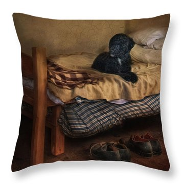 The Master's Shoes Throw Pillow