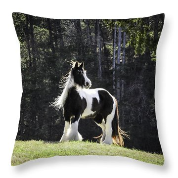 The Matriarch Throw Pillow