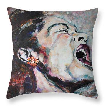 The Meaning Of The Blues Throw Pillow