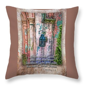 The Mediator Throw Pillow