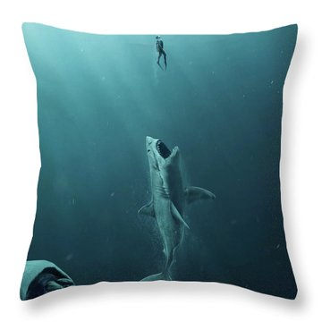 The Meg 5.0.3 Throw Pillow
