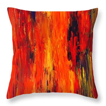The Melt Throw Pillow