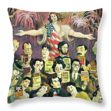 New Yorker June 27th, 1994 Throw Pillow
