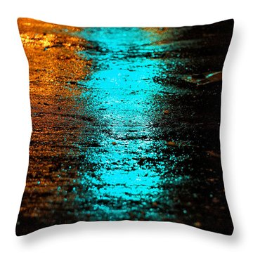 The Memory Lane II Throw Pillow by Prakash Ghai