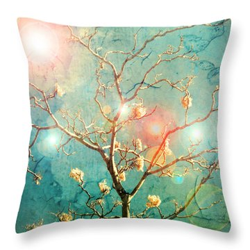The Memory Of Dreams Throw Pillow by Tara Turner