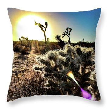 Merciless Throw Pillow