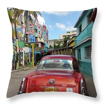 The Mercury Throw Pillow