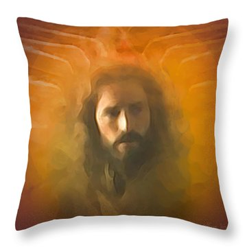 The Messiah Throw Pillow