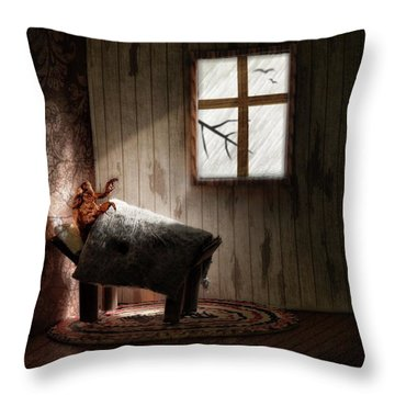 Throw Pillow featuring the photograph The Metamorphosis Redux by Mark Fuller