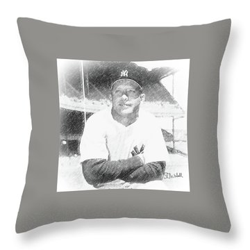 The Mick Throw Pillow