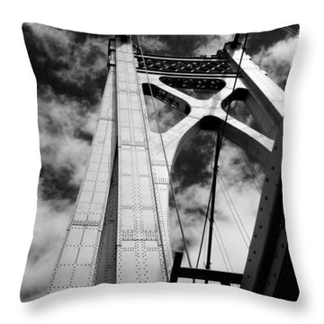 The Mid-hudson Bridge Throw Pillow