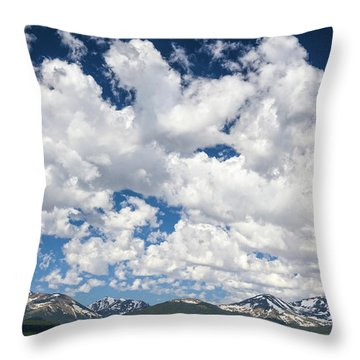 The Mid Point Between Ante Meridiem And Post Meridiem, Between A.m. And P.m.  Throw Pillow