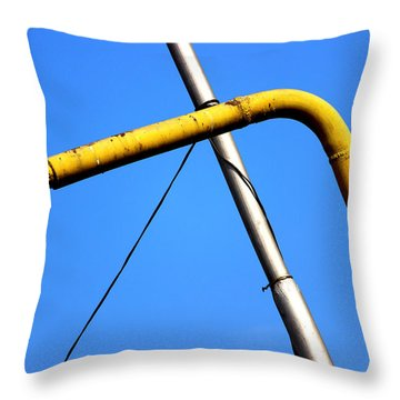 The Mile High Meetup  Throw Pillow by Prakash Ghai