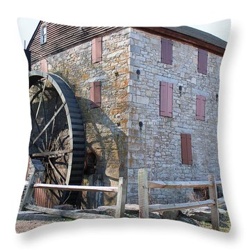 The Mill Throw Pillow