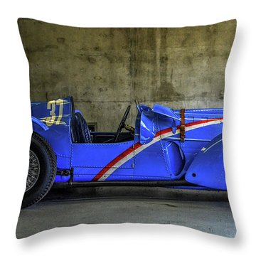The Million Franc Car Throw Pillow