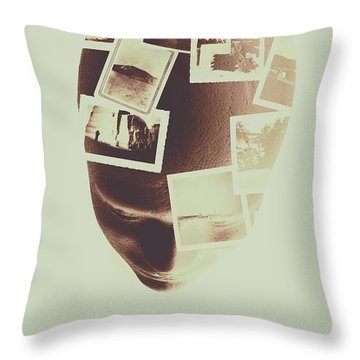 Consciousness Throw Pillows