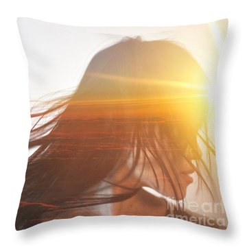 The Mind's Eye Throw Pillow