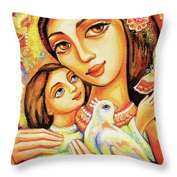 The Miracle Of Love Throw Pillow