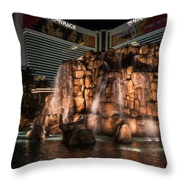 Throw Pillow featuring the photograph The Mirage by Ryan Photography