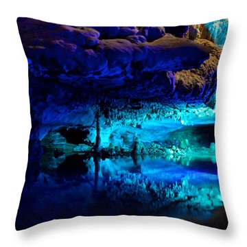 The Mirror Pool Throw Pillow