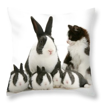 The Misfit Throw Pillow