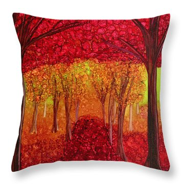 The Missing Colours Throw Pillow