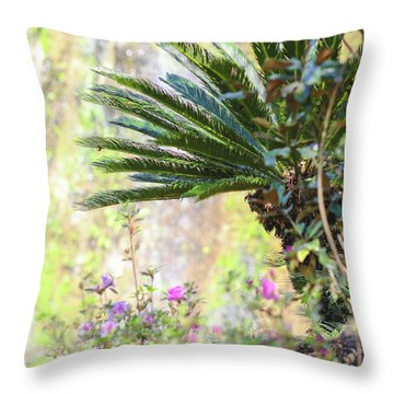 The Missing Tear Drop Throw Pillow