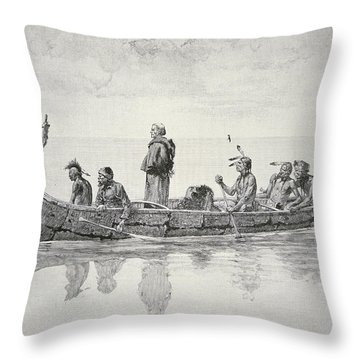 The Missionary Throw Pillow
