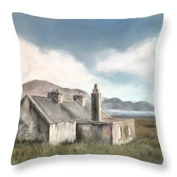 Moorland Mixed Media Throw Pillows