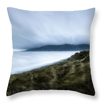 The Misty Mountains Of Mourne Throw Pillow