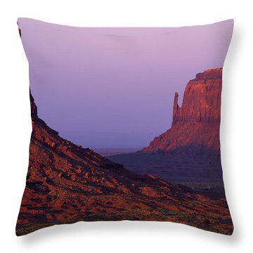 The Mittens Throw Pillow