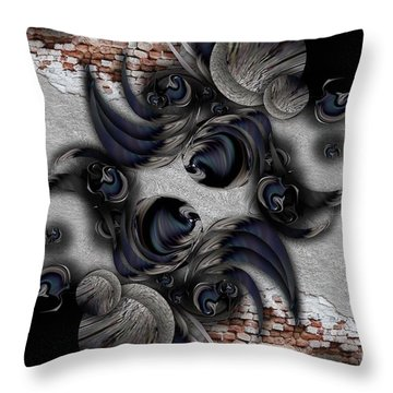 The Modern Projection Throw Pillow
