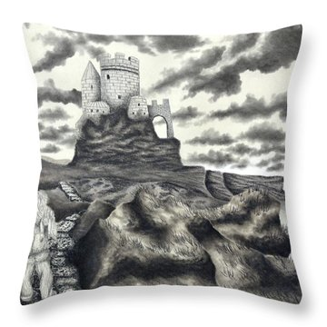 The Moher Giant Throw Pillow
