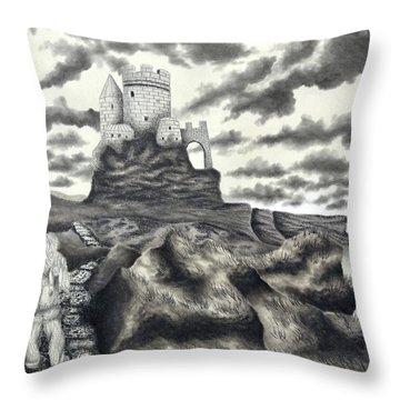 The Moher Giant Throw Pillow