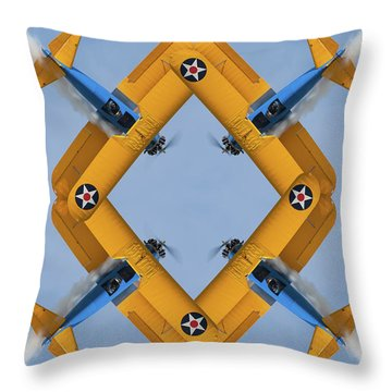 The Mohrbeous Strip Throw Pillow