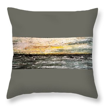The Moment 3 Throw Pillow
