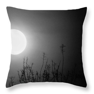 The Moon And The Stars Throw Pillow by John Glass