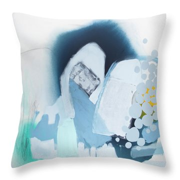 The Moon Is A Window Throw Pillow