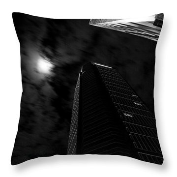 The Moon's Light Throw Pillow