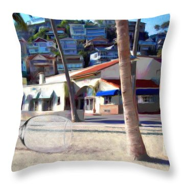 The Morning After Throw Pillow by Snake Jagger